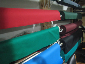 Statesboro pool table recovering table cloth colors