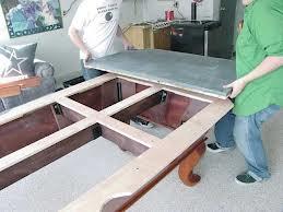 Pool table moves in Statesboro Georgia